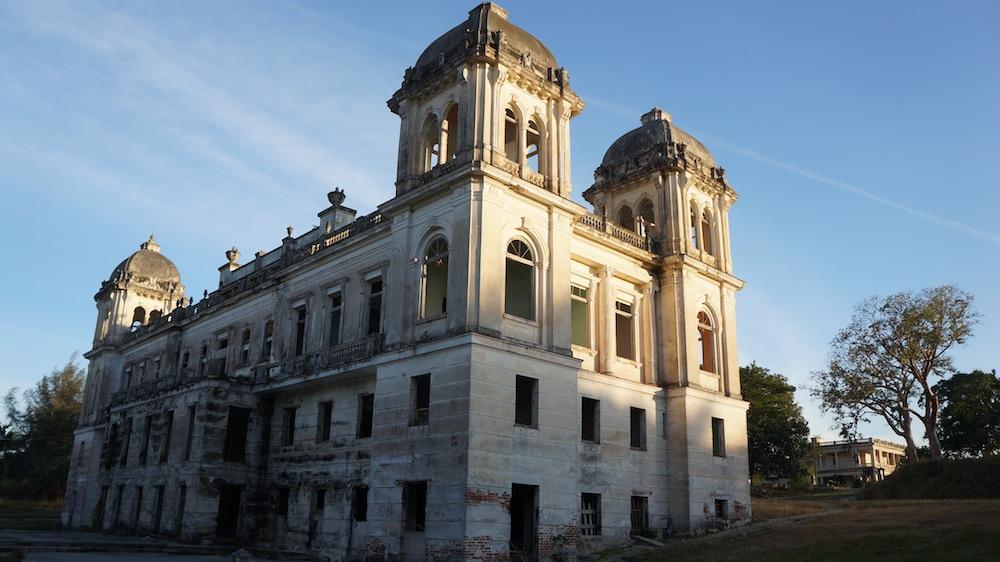 дворец-закат