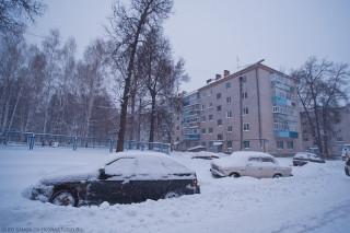 Снег в Казани и Татарстане от фотографа Олега Самойлова