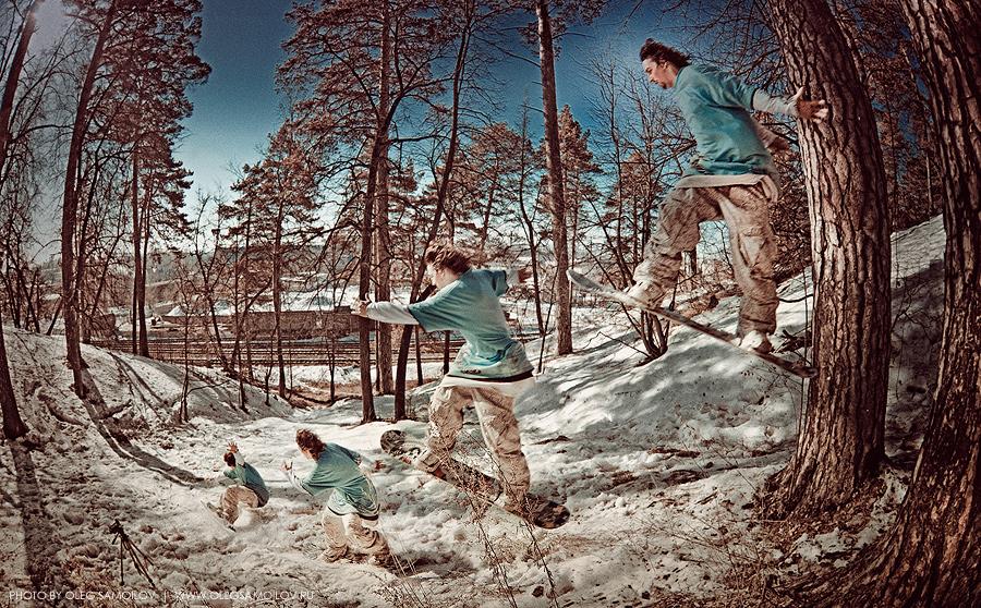 Карчинский Женя сноуборд везде спортивный фотограф Олег Самойлов