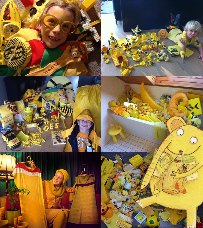 желтый конкурс