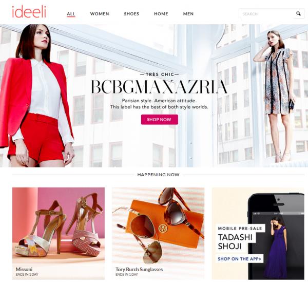 интернет-магазины сша, ideeli.com, sample sale, закрытые распродажи, магазины закрытых распродаж, как покупать на закрытых распродажах, купон на скидку, доставка в Россию