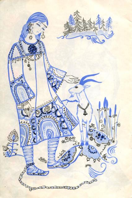 шурале рисунки: