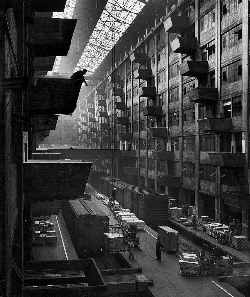 Город-склад, или главный секрет Бруклина Andreas Feininger - Brooklyn Army Base, 1949