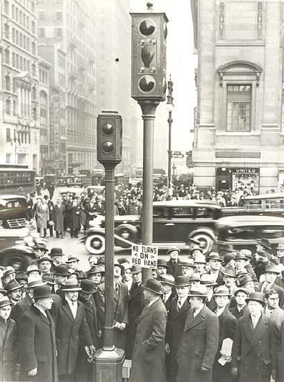Из истории нью-йоркских светофоров 6265trafficlights