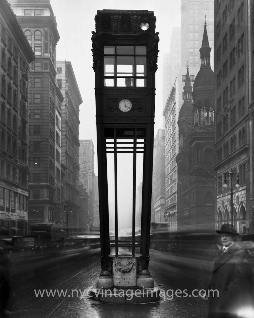 Из истории нью-йоркских светофоров Traffic-Tower-nyc-0438
