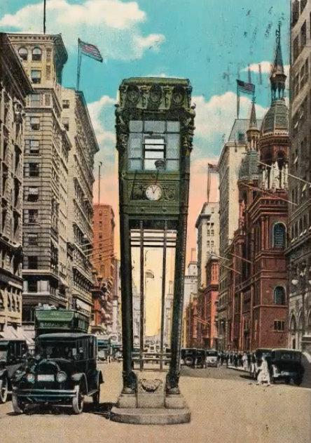 Из истории нью-йоркских светофоров color