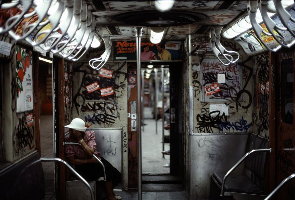 История в фотографиях - Нью-Йорк 1985-го
