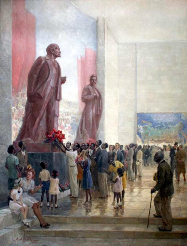 Пам'ятник Леніну в Нью-Йорку