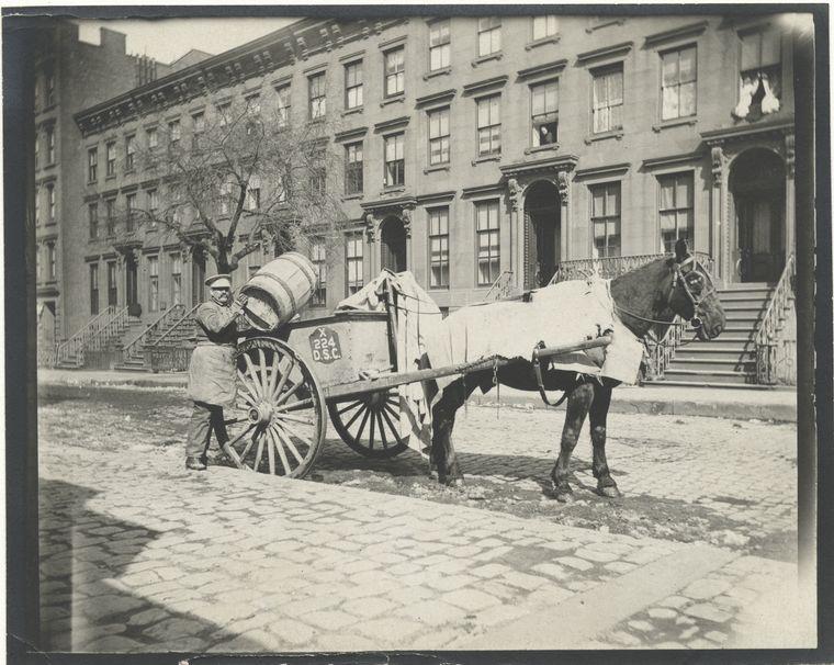 Ash cart. (1896) 2