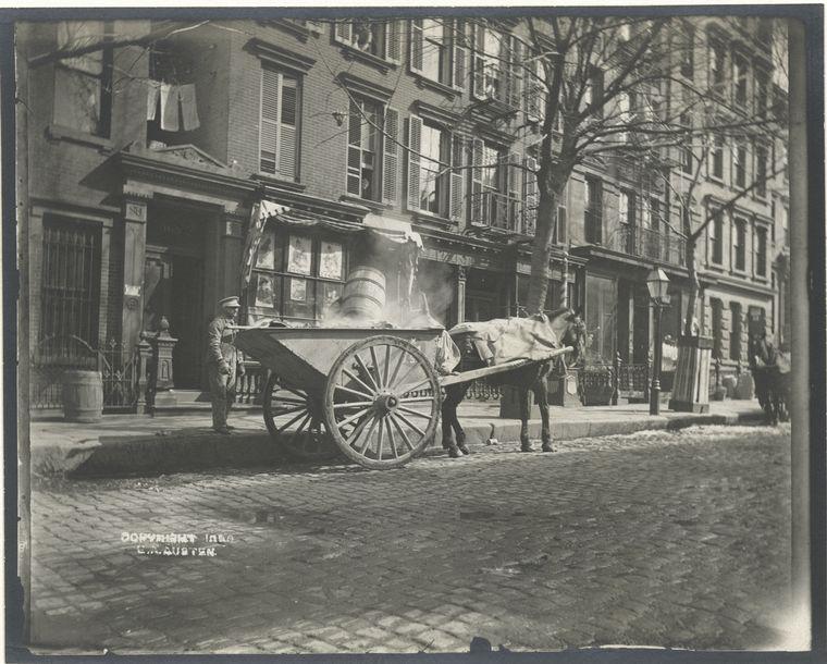 Ash cart. (1896)