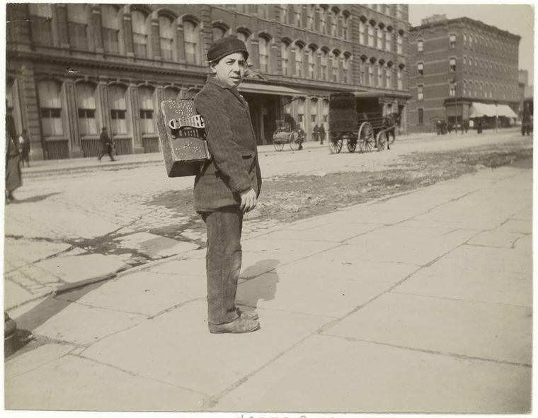 Bootblack. (1896)