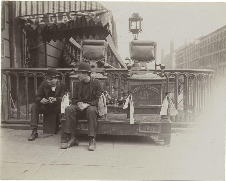 Bootblacks. (1896) 2