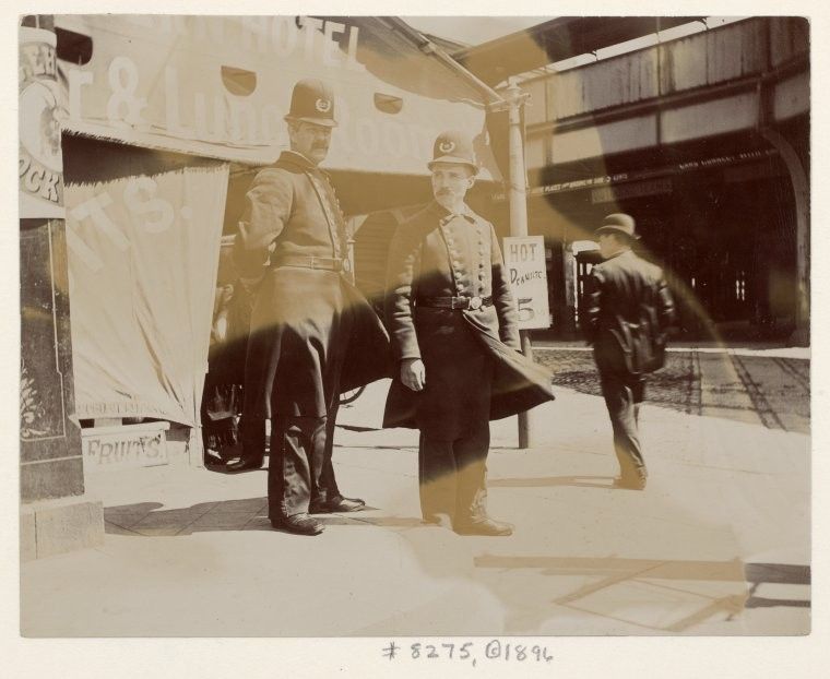 Policemen. (1896)