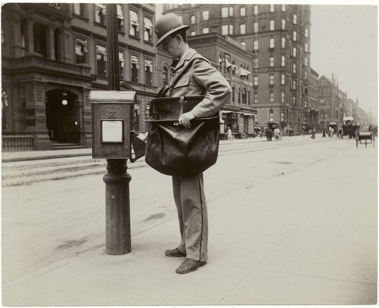 Postman. (1896) 2