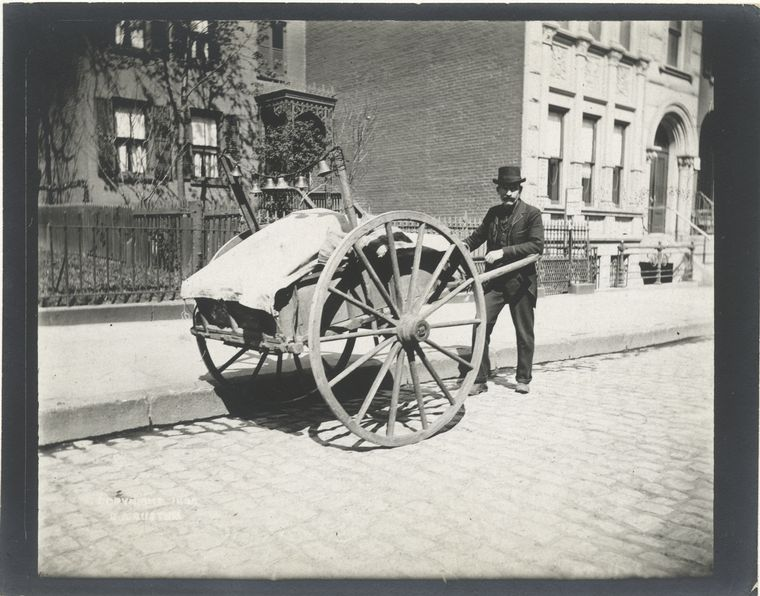 Rag cart. (1896) 2