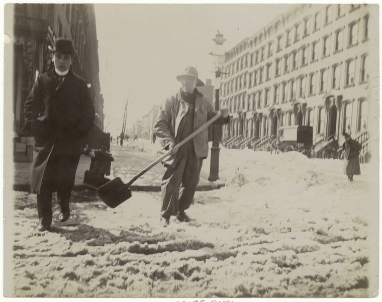 Snow removal. (1896) 3