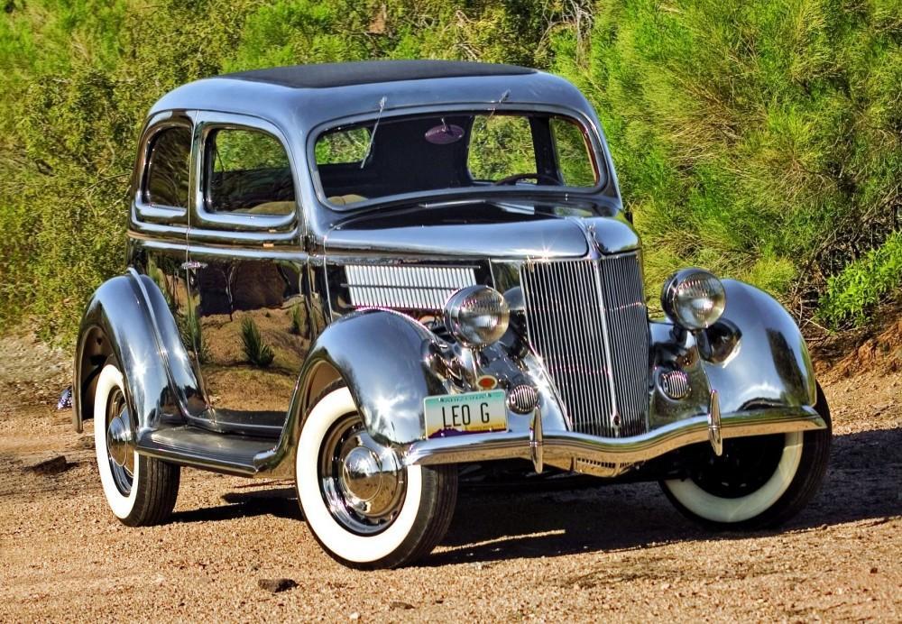 1936 Ford Tudor Deluxe sedan