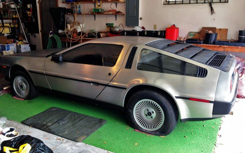 DeLorean-Garage-Find