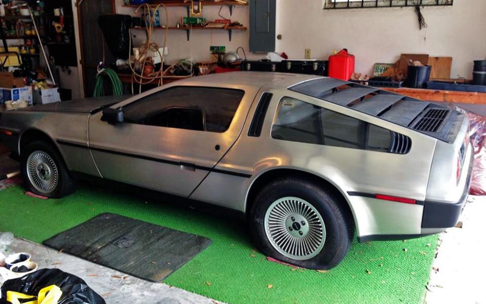 DeLorean-Garage-Find