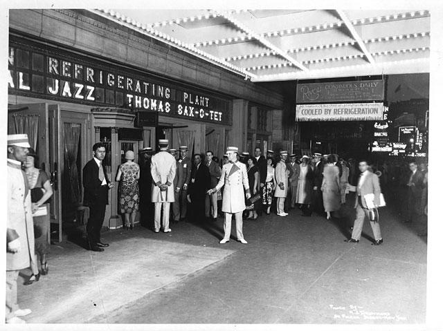 Кинотеатр Риволи, 1925 год.