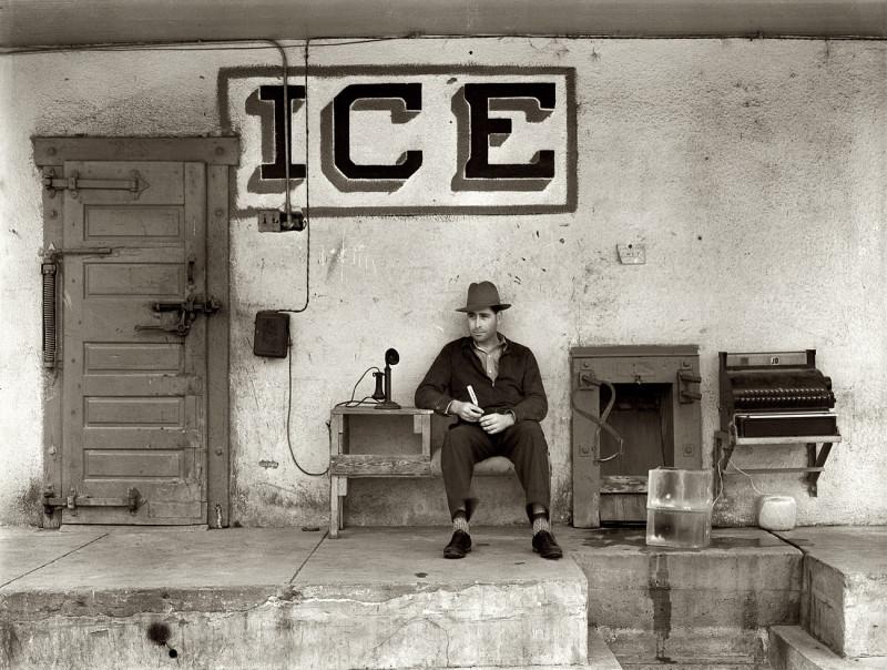 Торговец льдом в Техасе 1939 год