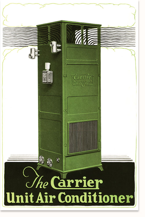 Кондиционер компании Кэрриер, 1928 год.