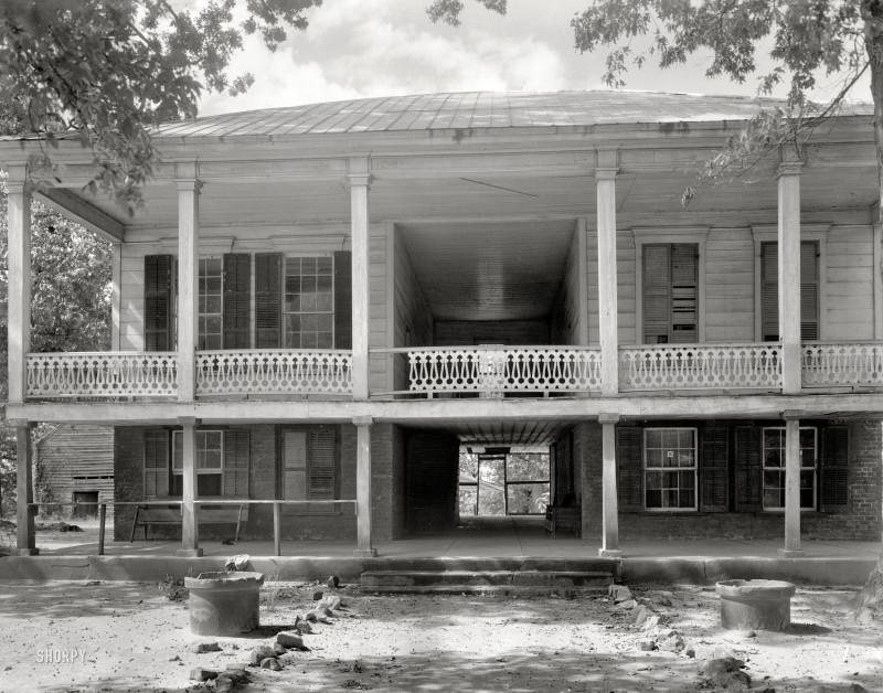 Дом в Джорджии, 1944 год.