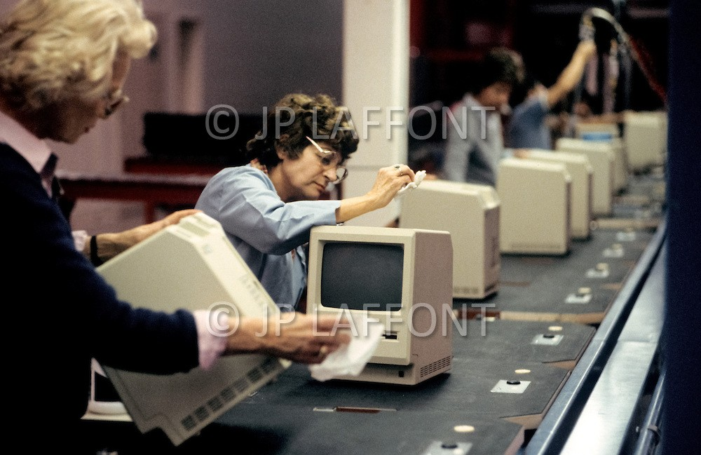 Как создавали Macintosh 128K. Завод Apple 1984 г.