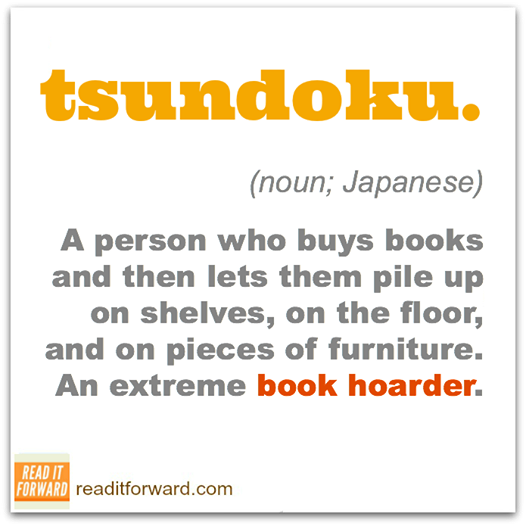japanese for book hoarder