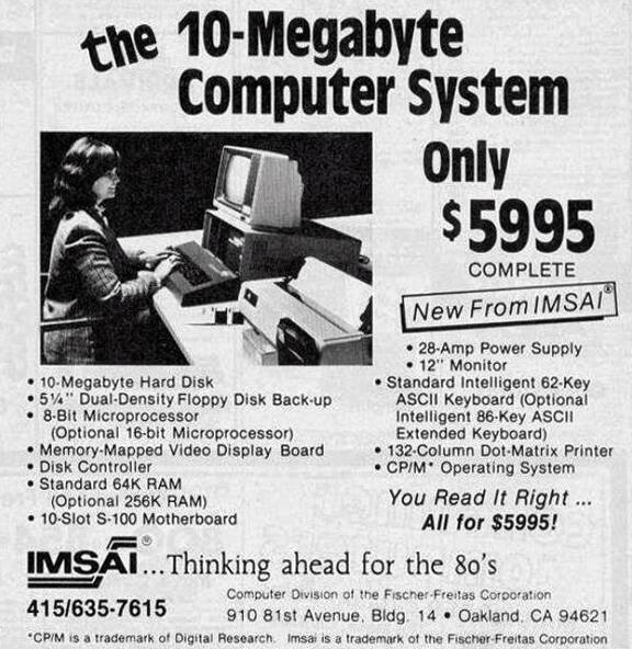 computer ad ca 1977