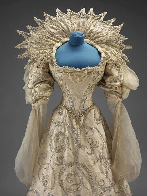 1897 ball gown