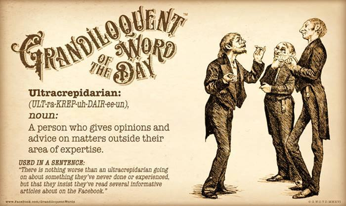 word of the day aka know-it-all