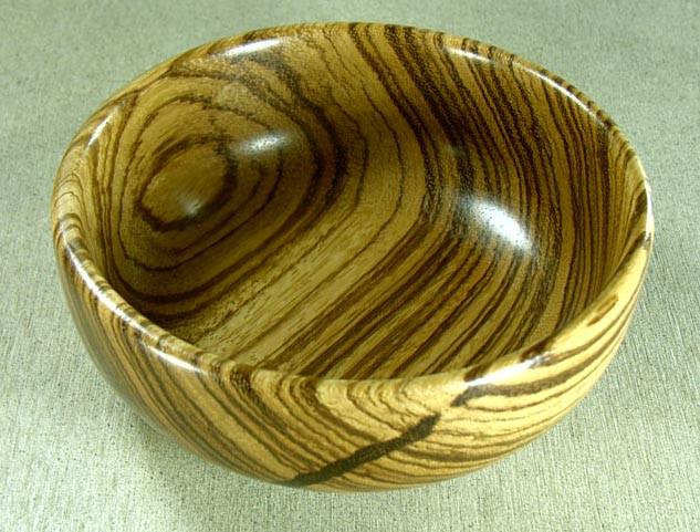 Bowl, Zebrawood2-0501
