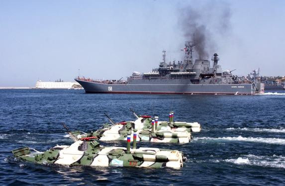 Успехи армии Асада начались с учений ВМФ России у берегов Сирии