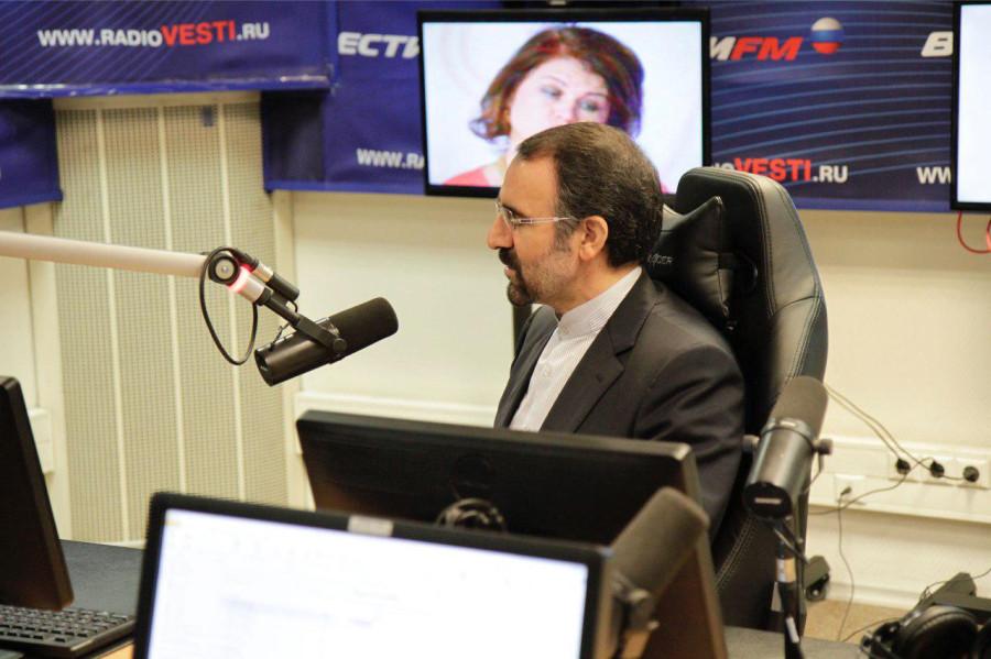 """Интервью программе """"польный контакт"""" на радио """" вести ФМ"""""""