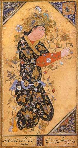 Мастер персидской миниатюры Кемаль-ад-Дин Бехзад