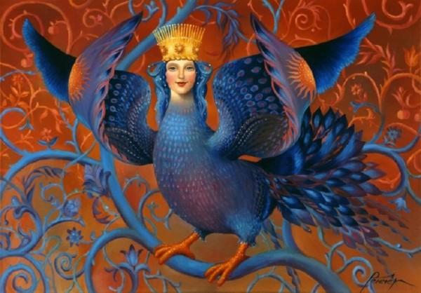 Русская мифическая птица Гамаюн и иранские истоки её образа