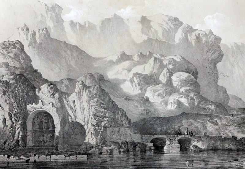 Старое изображение Так-е Бостан