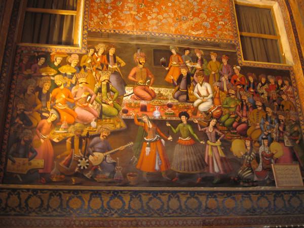 Fresque_chehel_sotoun_esfahan