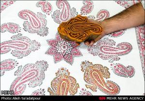 Набивки рисунков на ткань
