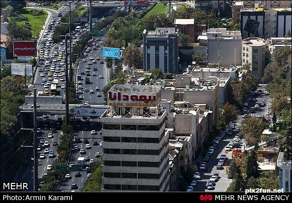 ترافیک-تهران-8