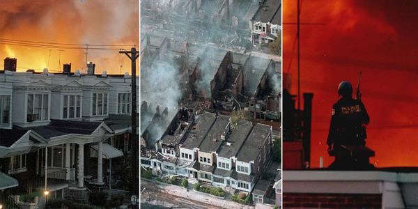 1985 год. Бомбардировка Филадельфии...