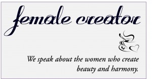 Blog about women who create