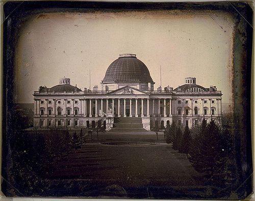12   Капитолий, Вашингтон, 1846 год