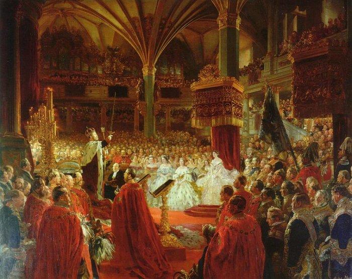 03 _1861-koronaciya-vilgelma-i-korolya-prussii_-kenigsberg коронация