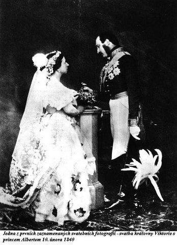 03   Свадебная фотография Королевы Виктории и принца Альберта 10 февраля 1840 года