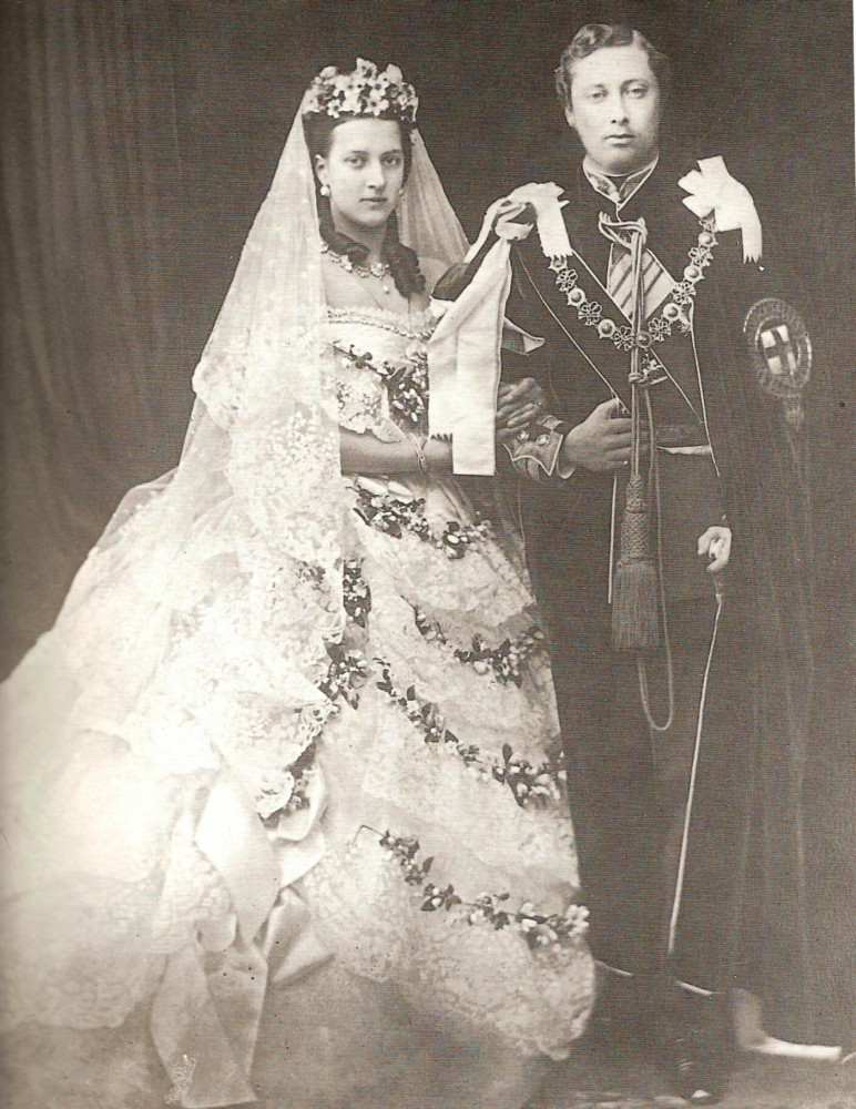 11   свадьба Александры Датской и  Альберта Эдварда  март 1863 года (2)
