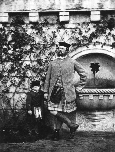 15  Фридрих третий со своим сыном в Балморале original