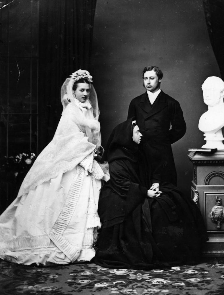02   свадьба  Александры и Эдуарда  март 1863 года