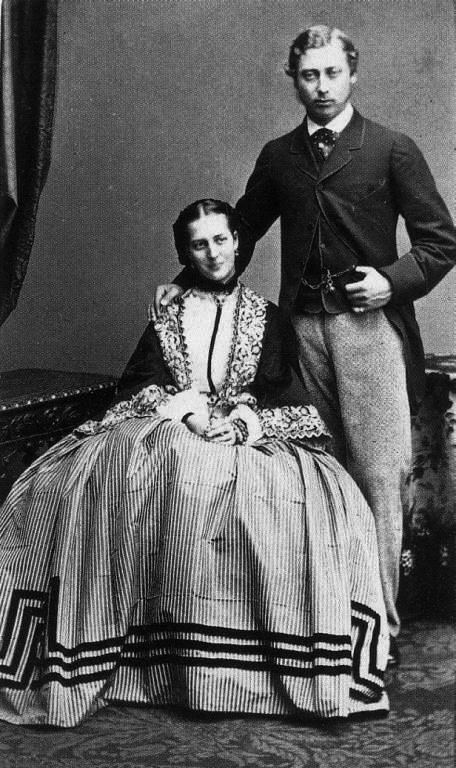 04   1862_engagement_photo_of_pr Берти и Александра